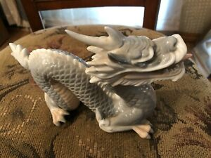 VINTAGE CHINESE PORCELAIN DRAGON