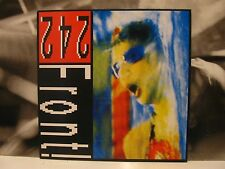 "FRONT 242 - NEVER STOP ! 12"" MAXI SINGLE 1989 GERMANY SPV 50-1347"