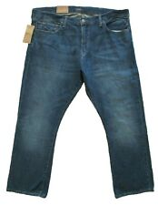 POLO RALPH LAUREN men's THE BOOTCUT JEANS Mcarryover Denim Pants BLUE 42 x 30