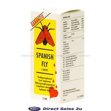 Spanish Fly Extra STRONGEST Aphrodisiac Drops Enhancer for Her & Him 15ml
