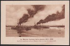 cartolina marina militare FLOTTA AUSTRIACA ENTRA A VENEZIA DOPO RESA 1919