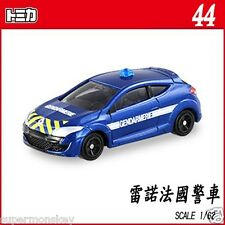 TOMICA NO.044 1/62 RENAULT MEGANE GENDARMERIE HIGHWAY GUARD FRANCE TM044A #44