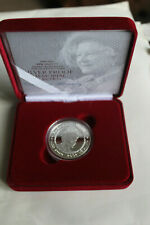 Royal Mint Silver Proof 2002 Queen Mother Memorial £5 Crown Velvet Boxed & COA