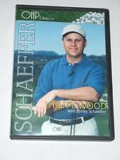 DVD & CD - UTILITY WOOD with Bobby Schaeffer - Golf Instructional Rare HTF
