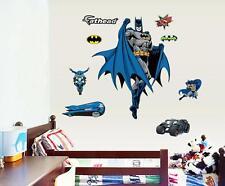 Large Bat Man removable wall sticker home decor vinyl sticker kid art mural gift