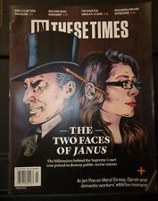 In These Times Magazine The Two Faces Of Janus March 2018    M25