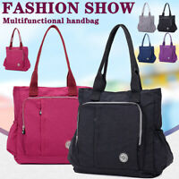 Women Nylon Waterproof Shoulder Crossbody Bag Casual Messenger Tote Handbags