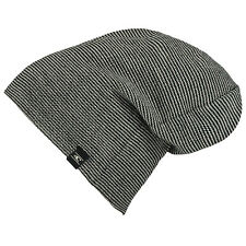 O'NEILL MENS BEANIE.NEW ALL YEAR LOOSE FIT BLACK/GREY KNITTED HAT 7W 4128 9010