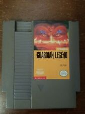 NINTENDO NES - The Guardian Legend w/ Dust Cover Original Game 1989 Broderbund