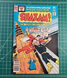 SHAZAM #28 (1977) 1st Modern Black Adam App DC Comics Newsstand FN 🔥 Key Issue