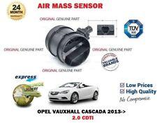 für Opel Cascada 2.0 CDTI Cabrio 2013- > NEU, Original LUFTMASSENSENSOR OE