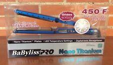 Hair Iron BabyLiss Pro Nano Titanium 13/4 450 ° New + FREE SHIPPING !!!