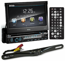 "Boss BV9967B 7"" In-Dash Car DVD CD Receiver with Bluetooth+License Plate Camera"