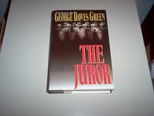 """The Juror""- a novel by George Dawes Green-hardback"
