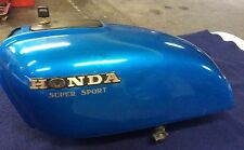 Retro Cafe Racer Honda Super Sport Tank Metal Flake
