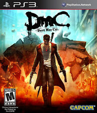 DMC Devil May Cry for PS3 Brand New! Factory Sealed!
