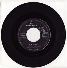 """THE DAVE CLARK FIVE - GLAD ALL OVER Very rare 1963 UK 7"""" BEAT Single Release!"""