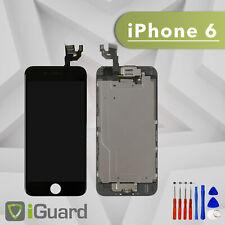 PREMIUM LCD Display für iPhone 6 Schwarz VORMONTIERT Screen Ersatz Bildschirm
