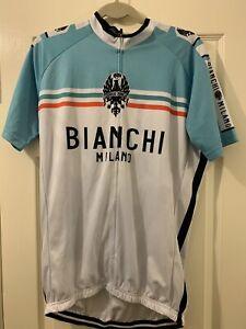 Bianchi Milano Cycling Jersey Short Sleeve XXXL