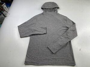 Lululemon Hoodie Sweatshirt Pullover Gray Men's Medium