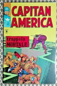 R@RO FUMETTO CAPITAN AMERICA, TRAPPOLA MORTALE - N.99-NEW,EDICOLA -RIF.1160