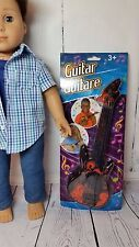 "Cool Red Electric Guitar for American Girl, Kidz N Cats and Other 18"" Dolls"