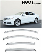WELLvisors For 14-Up Chevrolet Impala Window Visors Deflectors Vent