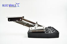 BLUE WHALE Marine Stainless Steel 10 Hp Outboard Motor Bracket-2 Stroke from USA