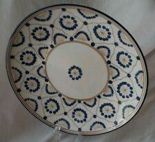 "Thomas O'Brien Porcelain Vintage Modern China Dots Dinner 11"" Plate, PRISTINE!"
