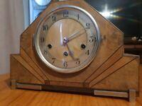 Antique Kienzle Foreign Westminster   Artdeco mantle  clock