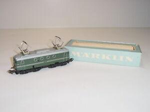 Vintage 1950's Märklin 3011 HO 1101 SNCF Model Train Electric Locomotive w/ Box