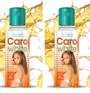 Caro White Lightening Oil with Carrot Oil 2 Pcs. Real Stuff!