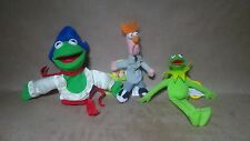 STARBUCKS MUPPETS BEAKER FINGER PUPPET NEW WITH TAGS & KERMIT KEYCHAIN/PUPPET
