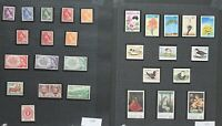 Australia 1950/84 large collection of complete sets, singles, sheets and  Stamps