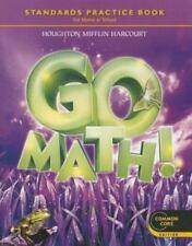 Y141-7A * 3rd Grade, Go Math! Student Practice Workbook