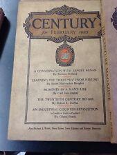 Lot of 10 Century Magazine, 1925, pb