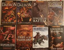 Lote libros Warhammer 40k y AOS: Horus heresy, chaos, space marines, eldars,