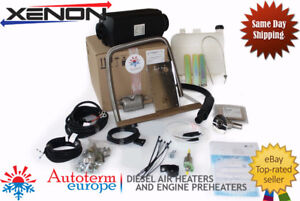 Autoterm AIR 4D 4Kw Air Heater MARINE (SMALL) Set with PU-22 controller
