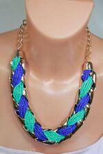 Collane e pendagli di bigiotteria collier blu