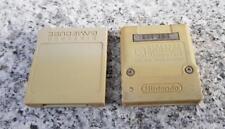 2x Game Cube - Original Nintendo 59 Memorycard / Speicherkarte #grau DOL-008