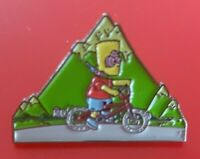 Bart Acid Pin TV Simpsons 90 LSD Kids Pin Enamel Retro Metal Brooch Badge Lapel