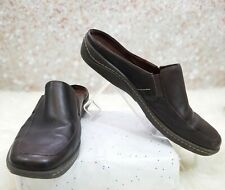 NATURALIZER LEATHER MULES SIZE 10.5 M