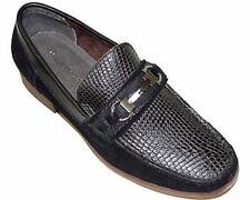 "Steve Harvey Footwear ""CALVIN"" Men's Casual Slip-On Shoes Size 8 Black Brand NEW"