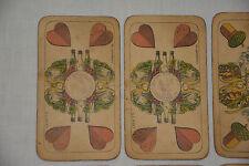 Antike Karten Wüst Karten Spiel Dreissig Pfennig Deutsches Reich Binokel Gaigel