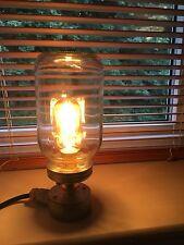 Industrial Vintage Retro Light Fitting Bedside Table Desk Lamp Jam Jar
