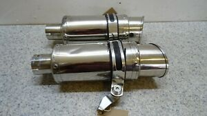 Aftermarket stubby twin EXHAUST YAMAHA XJR1300 1999 - 2006