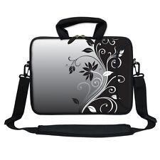 """Neoprene Laptop Bag Case w. Pocket Shoulder Strap to Fit Chromebook 11.6"""" 2252"""