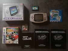 Nintendo Game Boy Advance - Platinum - Limited Edition mit OVP - plus Spiel