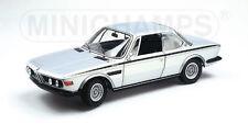 BMW 3.0 CSL 1972 Silver Minichamps 1:18 180 029020 NEW RARE !