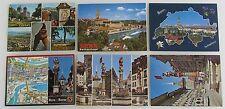 Postkarten Lot Schweiz 6x BERN Suisse AK frankiert mit Briefmarken ab/nach 1972